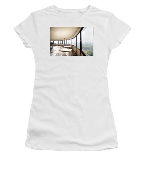 Abandoned Tower Restaurant - Urban Decay Women's T-Shirt (Athletic Fit)