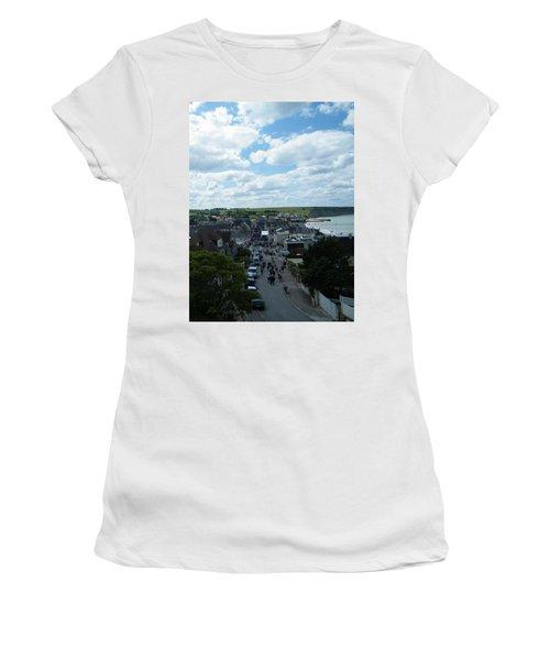 Above Arromanches-les-bains Women's T-Shirt (Athletic Fit)
