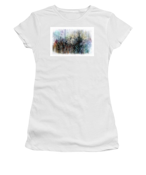 2f Abstract Expressionism Digital Painting Women's T-Shirt