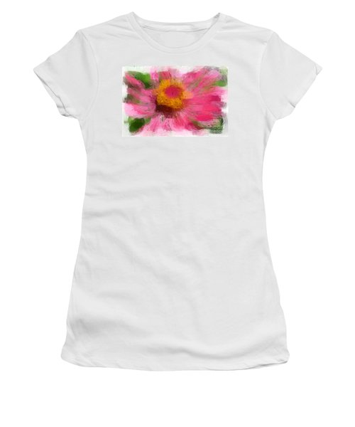 Abstract Flower Expressions Women's T-Shirt
