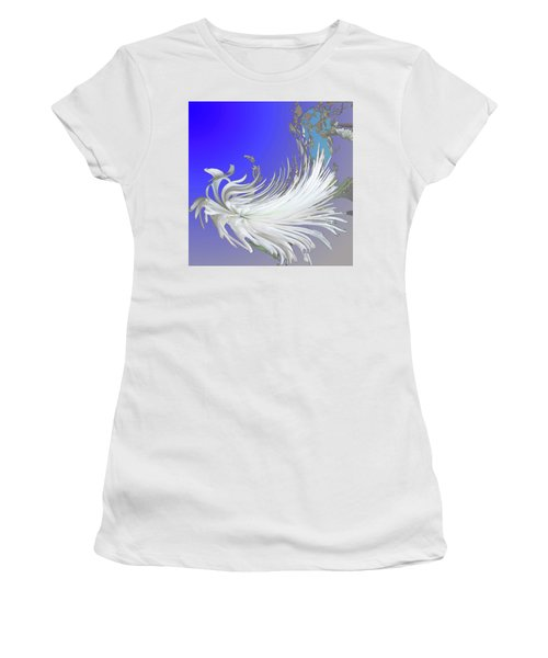 Abstract Flowers Of Light Series #4 Women's T-Shirt
