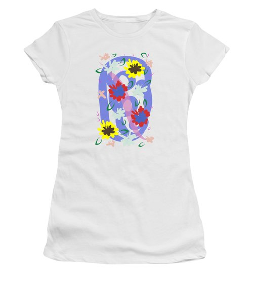Abstract Garden #1 Women's T-Shirt
