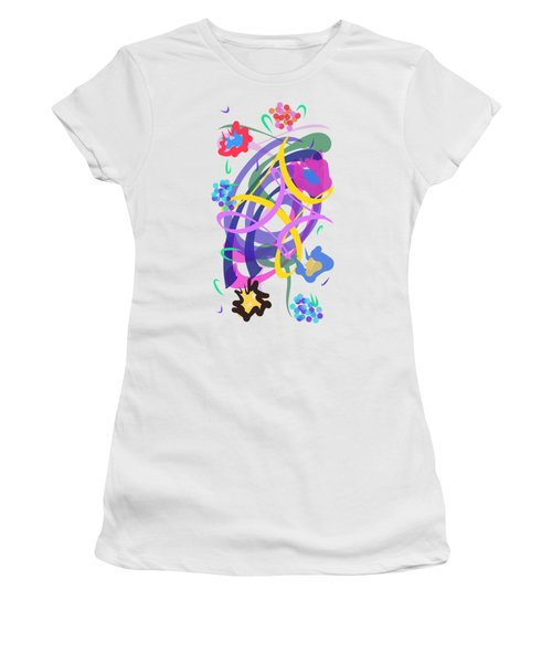 Abstract Garden #2 Women's T-Shirt