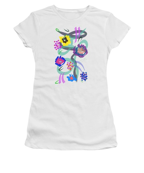 Abstract Garden Nr 4 Women's T-Shirt