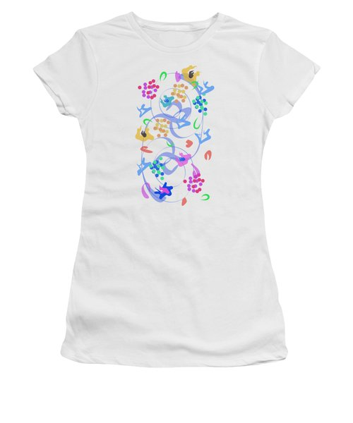 Abstract Garden Nr 6 Women's T-Shirt