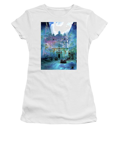 Abstract  Images Of Urban Landscape Series #9 Women's T-Shirt