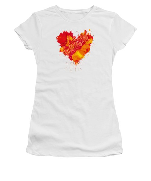 Abstract Intensity Women's T-Shirt (Athletic Fit)