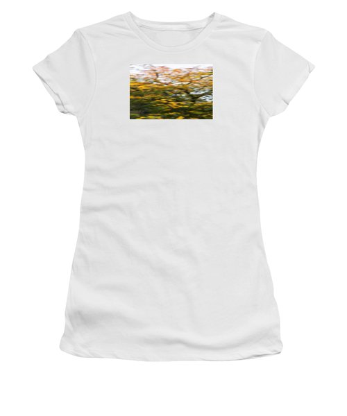 Abstract Of Maple Tree Women's T-Shirt