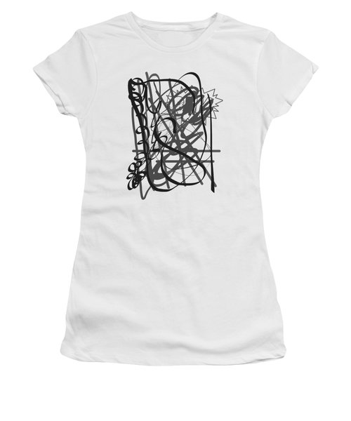 Abstract Women's T-Shirt (Junior Cut) by Oksana Demidova