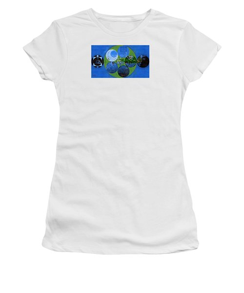 Abstract Painting - Everglade Women's T-Shirt (Athletic Fit)