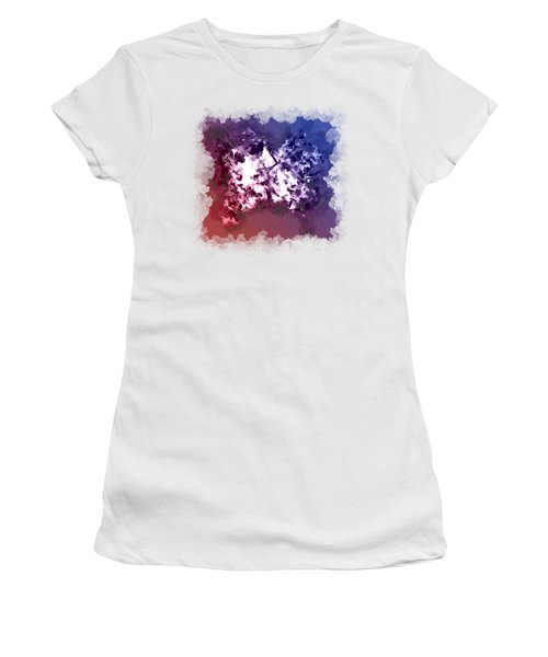 Abstraction Of The Ink Kiss  Women's T-Shirt (Athletic Fit)