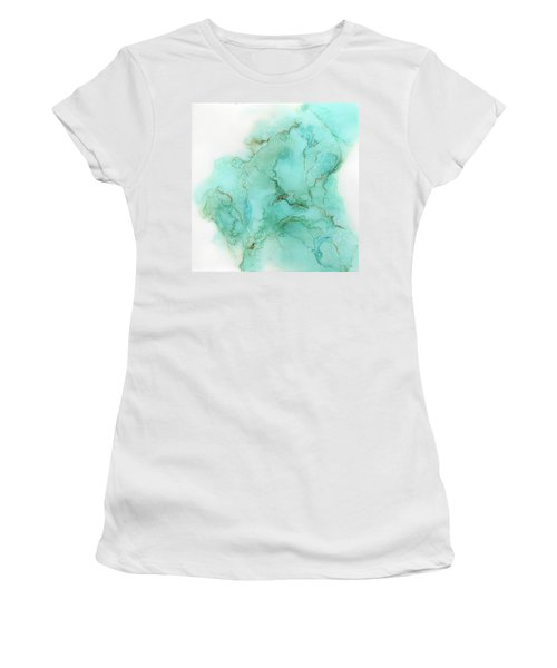Across The Blue Sky Women's T-Shirt (Athletic Fit)