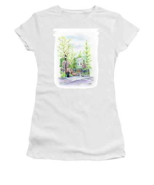 Across The Plaza Women's T-Shirt