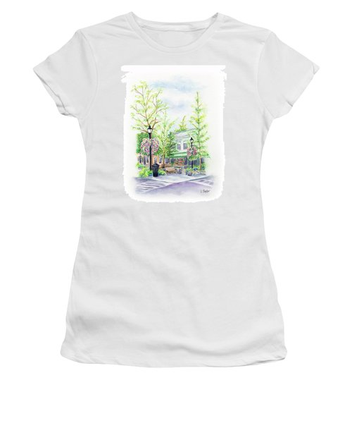 Across The Plaza Women's T-Shirt