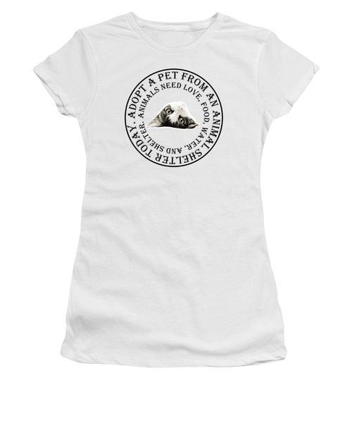 Adopt A Pet T-shirt Design Women's T-Shirt