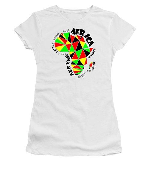 Africa Continent Women's T-Shirt