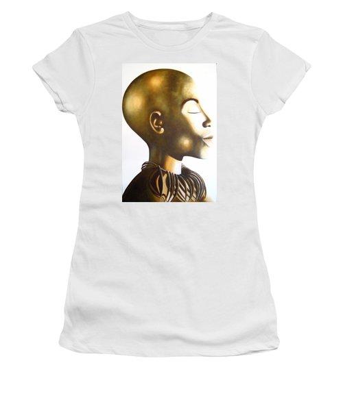 African Elegance Sepia - Original Artwork Women's T-Shirt