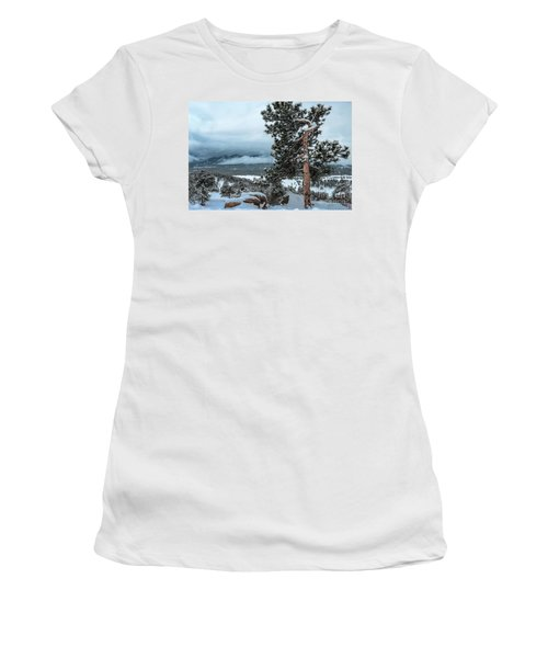After The Snow - 0629 Women's T-Shirt (Athletic Fit)
