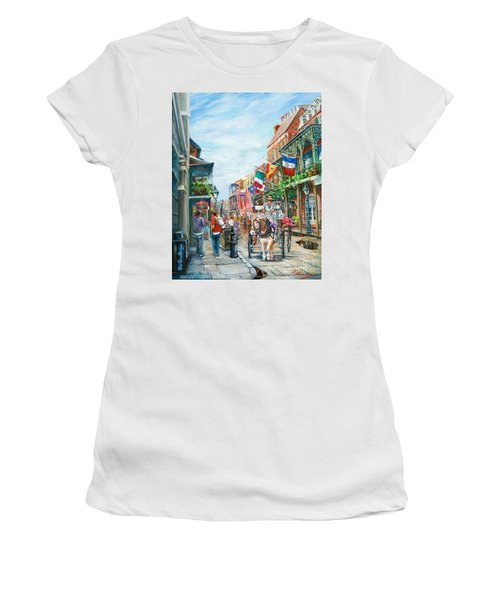 Afternoon On St. Ann Women's T-Shirt (Athletic Fit)