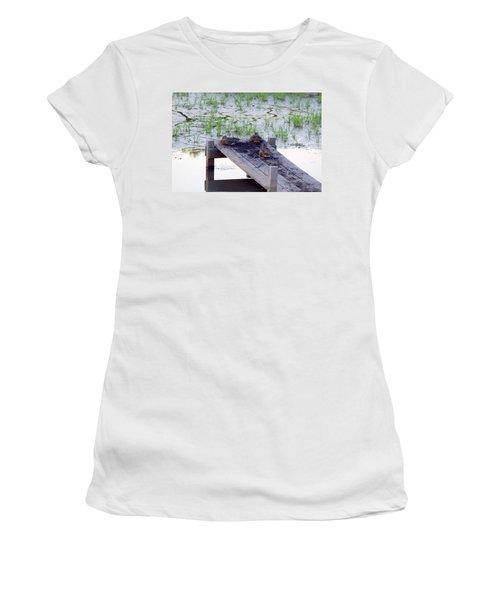 Afternoon Rest Women's T-Shirt (Junior Cut) by Deborah  Crew-Johnson