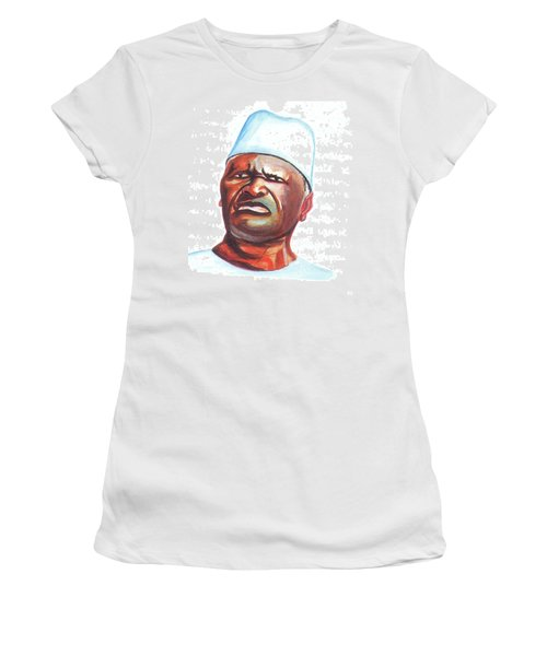 Ahmed Sekou Toure Women's T-Shirt (Junior Cut) by Emmanuel Baliyanga