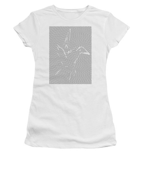 Women's T-Shirt featuring the digital art Aibird by Robert Thalmeier