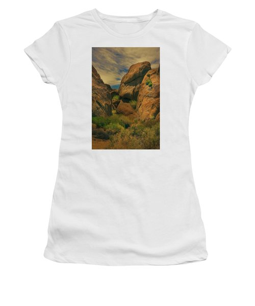 Alabama Hills - Eastern Sierras - Two Women's T-Shirt (Athletic Fit)