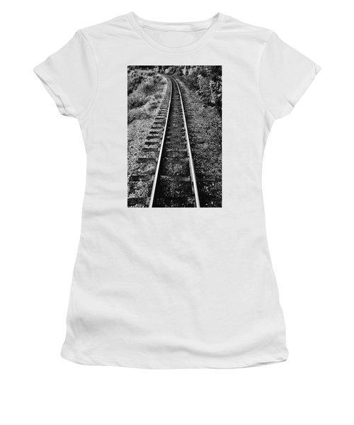 Alaska Tracks Women's T-Shirt