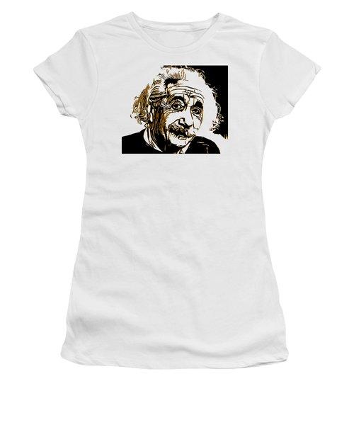 Albert Einstein Women's T-Shirt