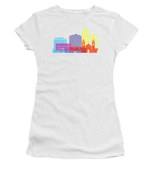 Albuquerque_v2 Skyline Pop Women's T-Shirt