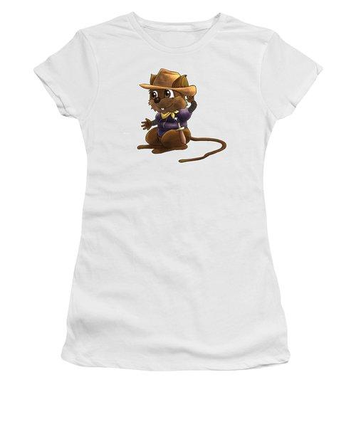Deputy Alfred Women's T-Shirt (Junior Cut) by Reynold Jay