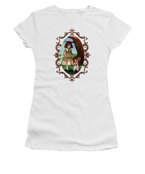 Alice Pleasance Liddel Women's T-Shirt (Junior Cut) by Akiko Okabe