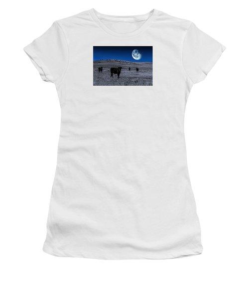 Alien Cows Women's T-Shirt