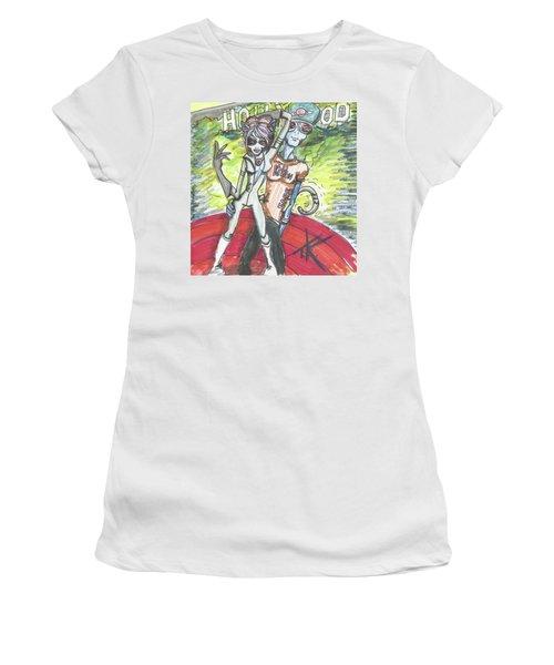 Alien Kitten Face Women's T-Shirt