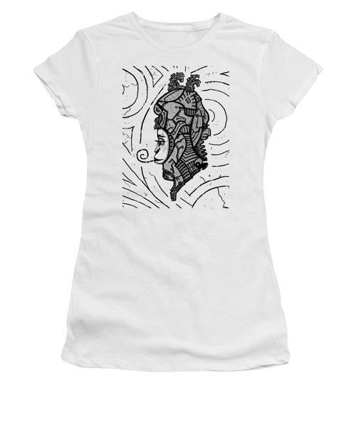 Alien Woman Women's T-Shirt (Athletic Fit)