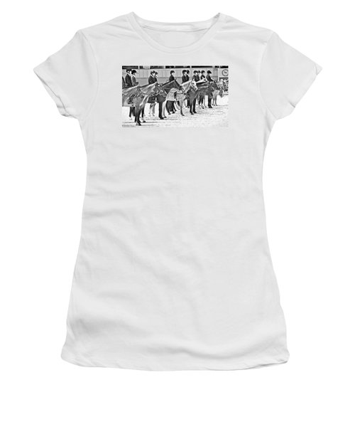All Lined Up Women's T-Shirt