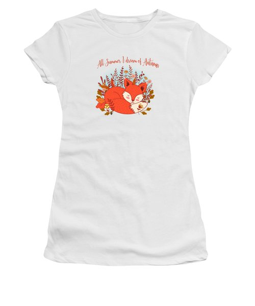 All Summer I Dream Of Autumn Women's T-Shirt