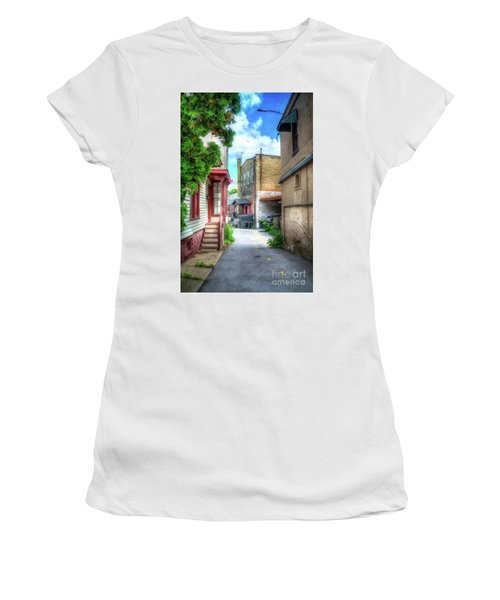 Alleyway Women's T-Shirt (Athletic Fit)