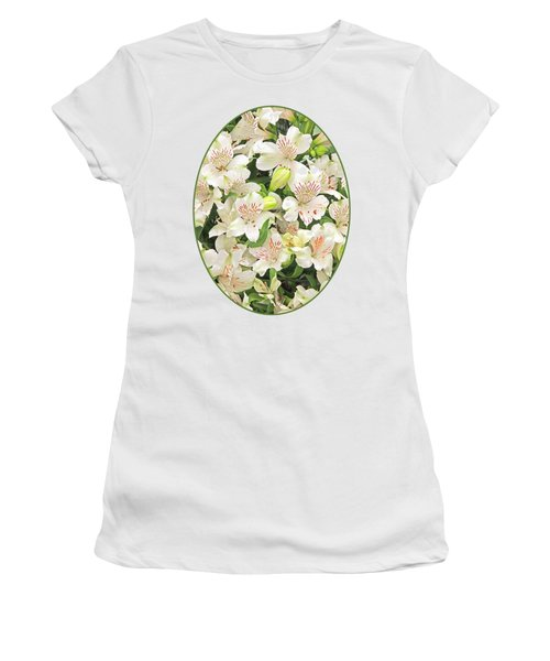 Alluring Alstroemeria - Peruvian Lilies Women's T-Shirt (Athletic Fit)