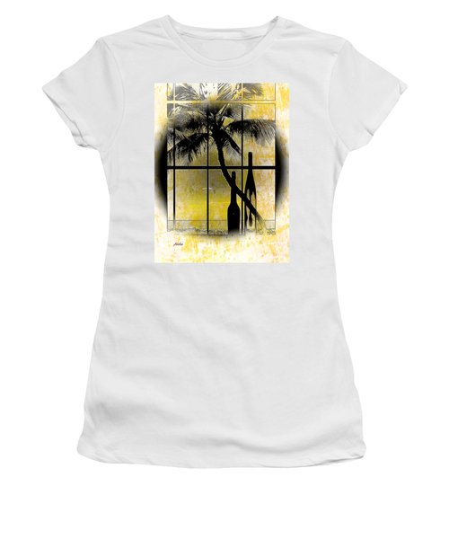 Women's T-Shirt (Junior Cut) featuring the photograph Aloha,from The Island by Athala Carole Bruckner