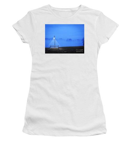 Alone Women's T-Shirt (Junior Cut) by Melissa Messick