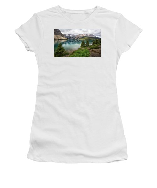 Along Icefields Parkway Women's T-Shirt (Athletic Fit)