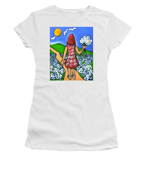 Along The New Path Women's T-Shirt (Athletic Fit)