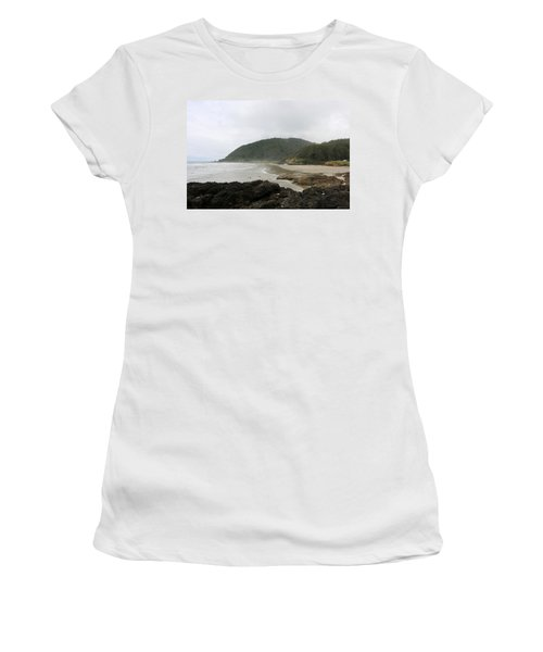 Along The Oregon Coast - 3 Women's T-Shirt (Athletic Fit)