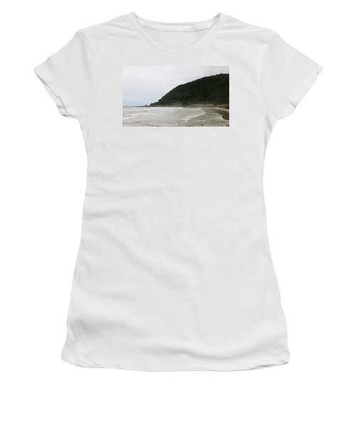 Along The Oregon Coast - 4 Women's T-Shirt (Athletic Fit)