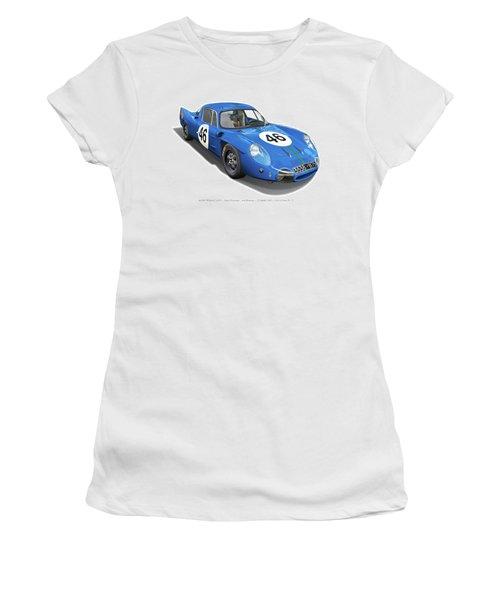 Alpine Renault A210 Women's T-Shirt (Junior Cut) by Alain Jamar