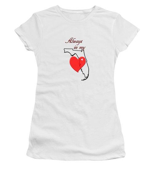 Always In My Heart Fl Women's T-Shirt