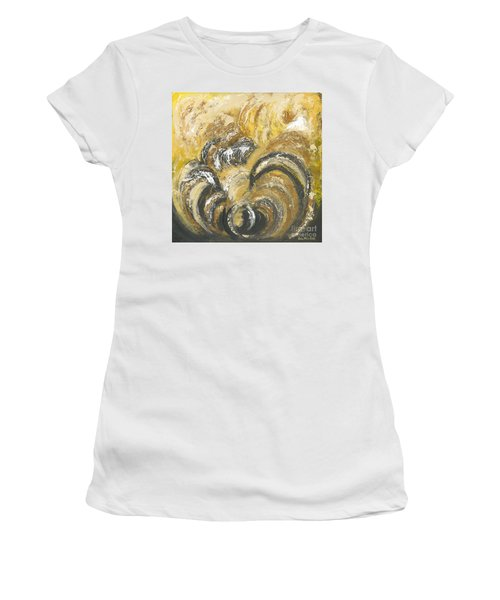 Amber Is The Color Of Your Energy Women's T-Shirt (Athletic Fit)