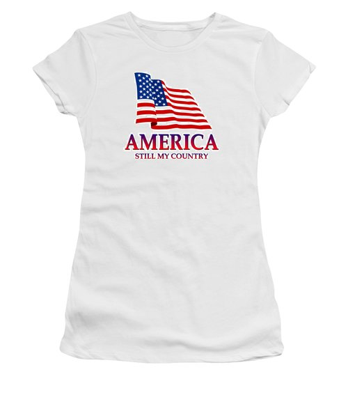 United States Of America Design - Still My Country Women's T-Shirt