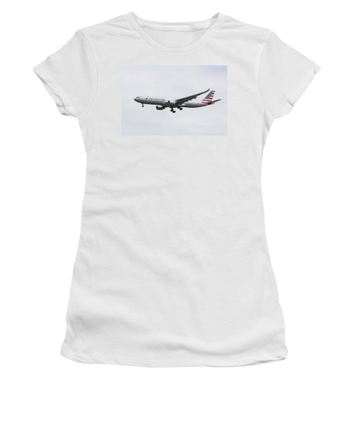 American Airlines Airbus A330 Women's T-Shirt (Athletic Fit)